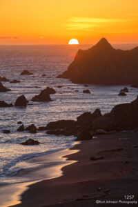 beach sunset california beach waterscape landscape