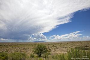 landscape desert clouds tucson