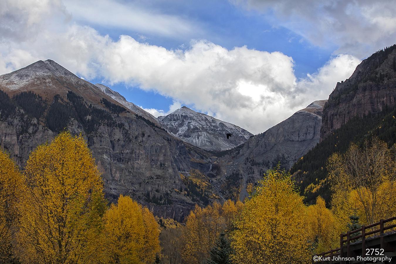 colorado landscape mountains birch trees yellow moutains