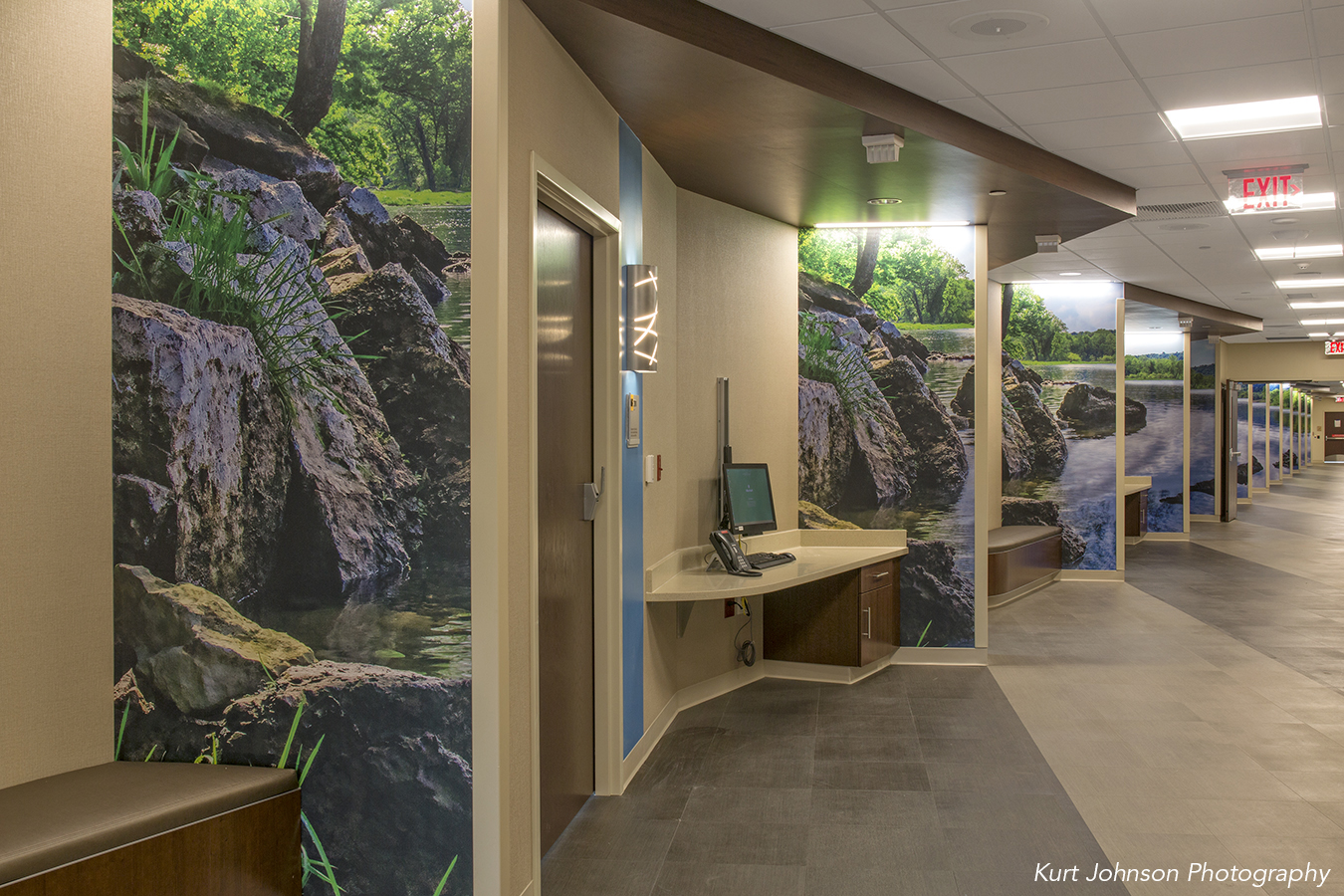 Install-wallcovering-art-The Mother Baby Center At United And Children's Minnesota-Coon Rapids-MN-HDR Minnesota