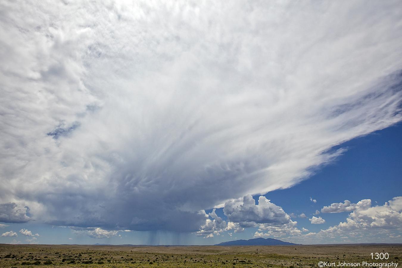 landscape desert clouds sand