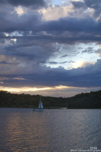 waterscape landscape clouds sunset ocean boat sailboat lake minnesota