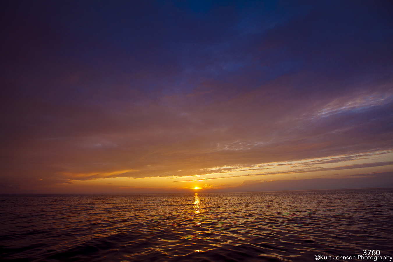 waterscape sunset waves clouds sky purple ocean
