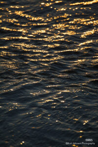 waterscape ware sunset blue yellow gold waves ocean