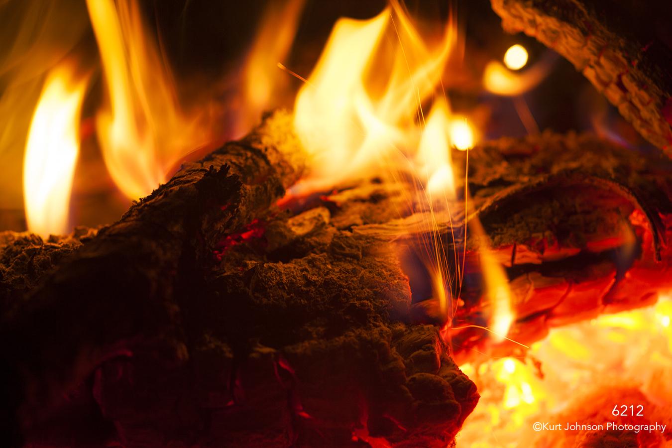 texture fire wood burning red brown orange