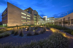 architectural exteriors healthcare architecture exterior hospital fort riley
