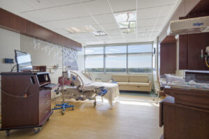 architectural interiors healthcare patient room interior design delivery birth