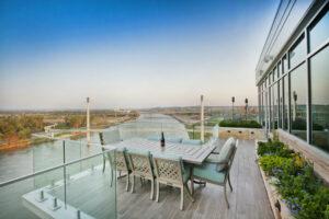 architectural architecture exteriors landscape deck view design residential penthouse apartment