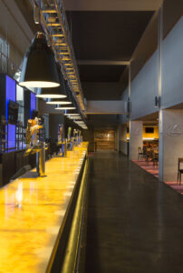 architectural architecture bar interiors lexus club lighting