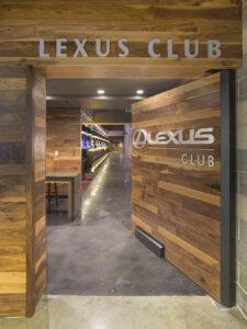architectural architecture bar interiors lexus club lighting door entry