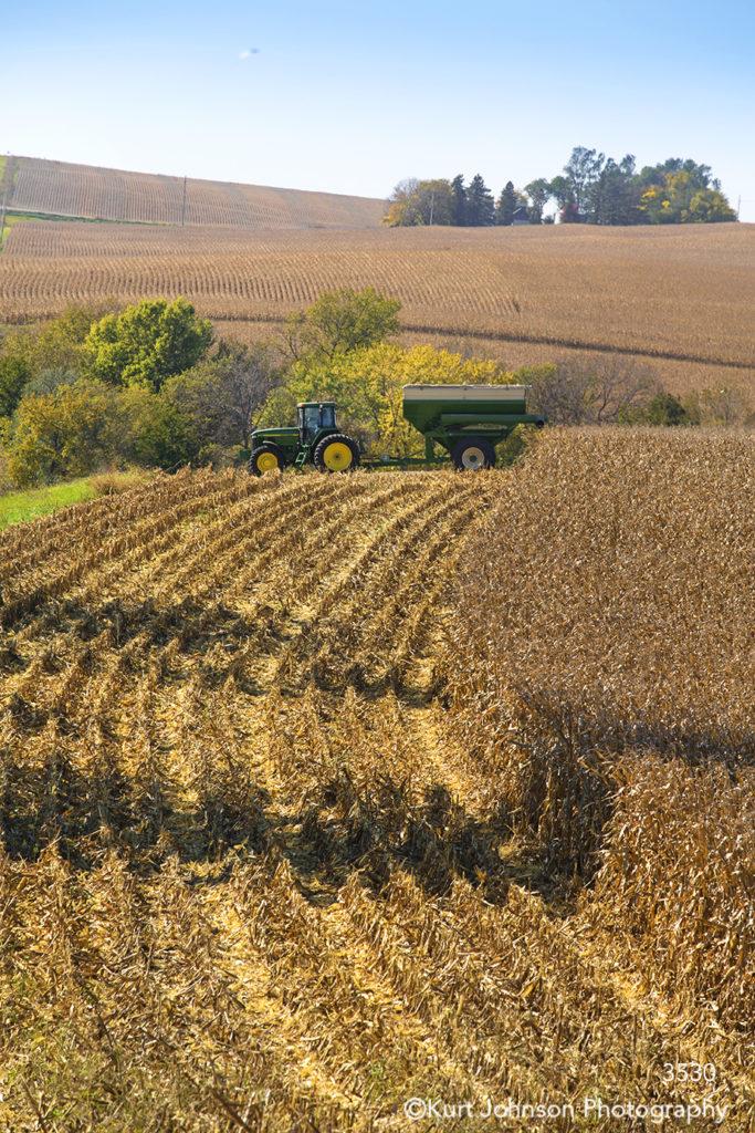 landscape crops corn harvest tracker midwest farm