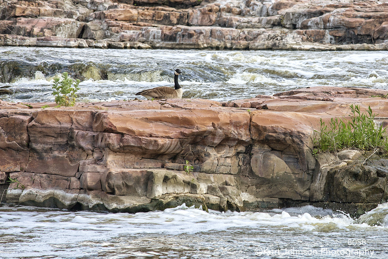 waterscape landscape falls goose rocks