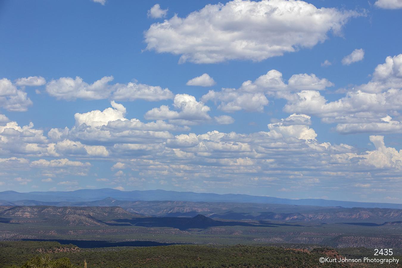 southwest landscape clouds desert mountains