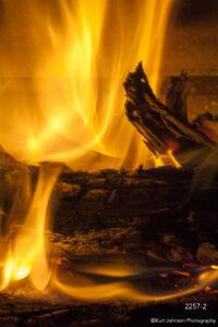 texture orange fire