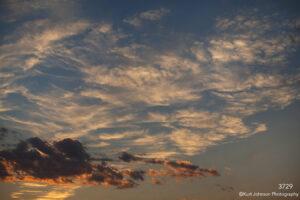 texture clouds sunset blue