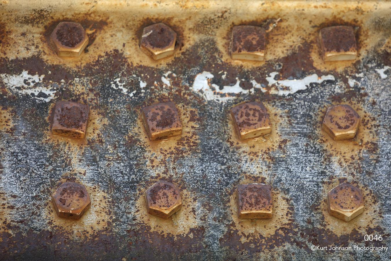 texture bridge rust brown