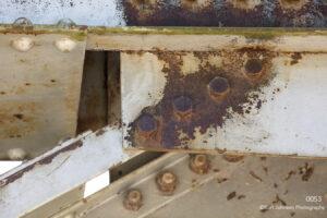 texture bridge rust brown red