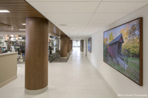 install art installation canvas brooking health system healthcare hospital