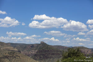 southwest landscape clouds desert mountains