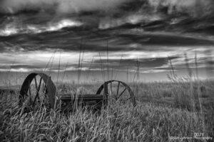 landscape black and white farm rural