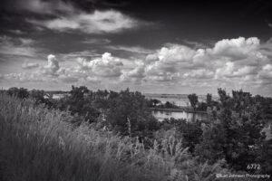 landscape black and white