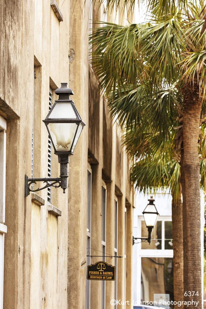 southeast Charleston South Carolina architecture tan building city