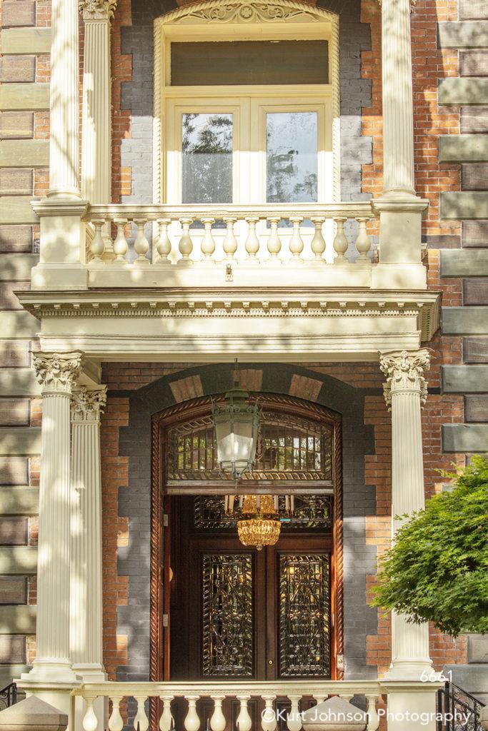southeast Charleston South Carolina red brick windows door doorway architecture building city shadows
