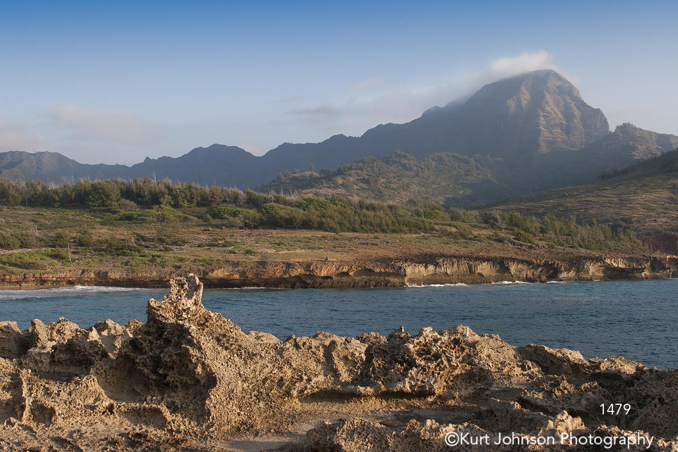 landscape waterscape water ocean mountain sand beach