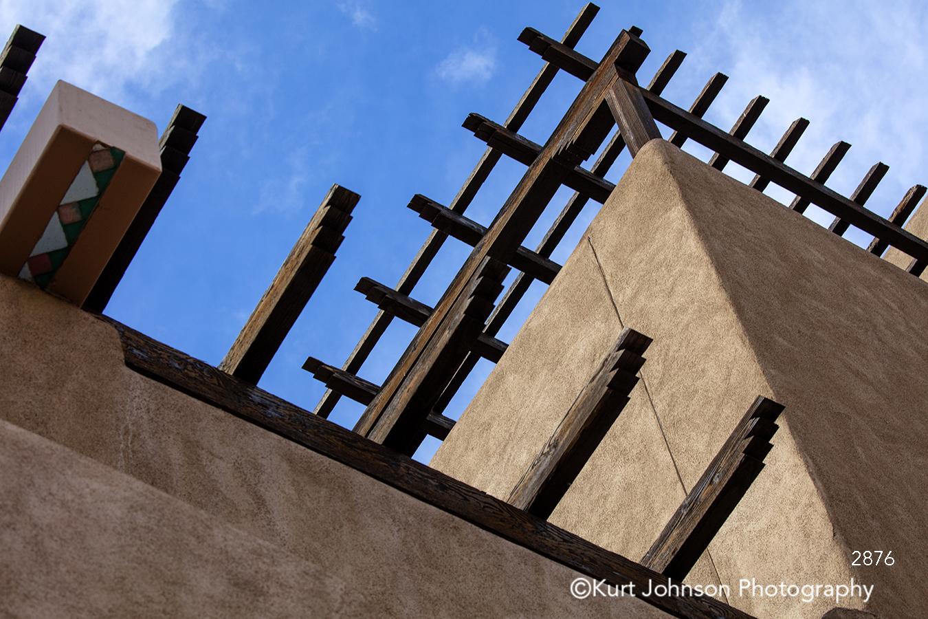 southwest desert adobe sante fe building new mexico lines brown
