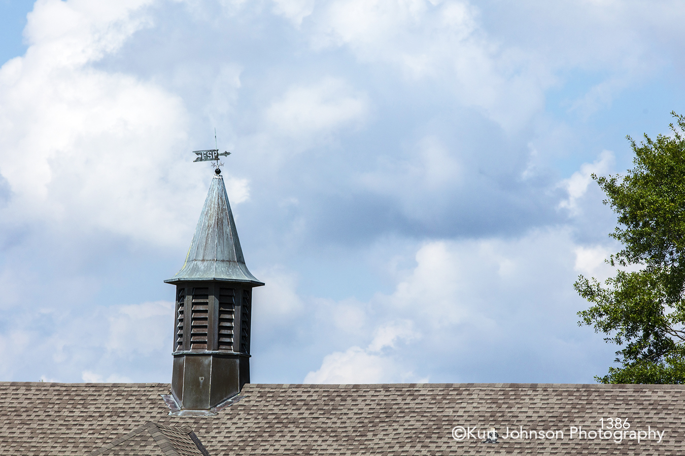 roof rooftop south southeast blue sky clouds steeple historical architecture