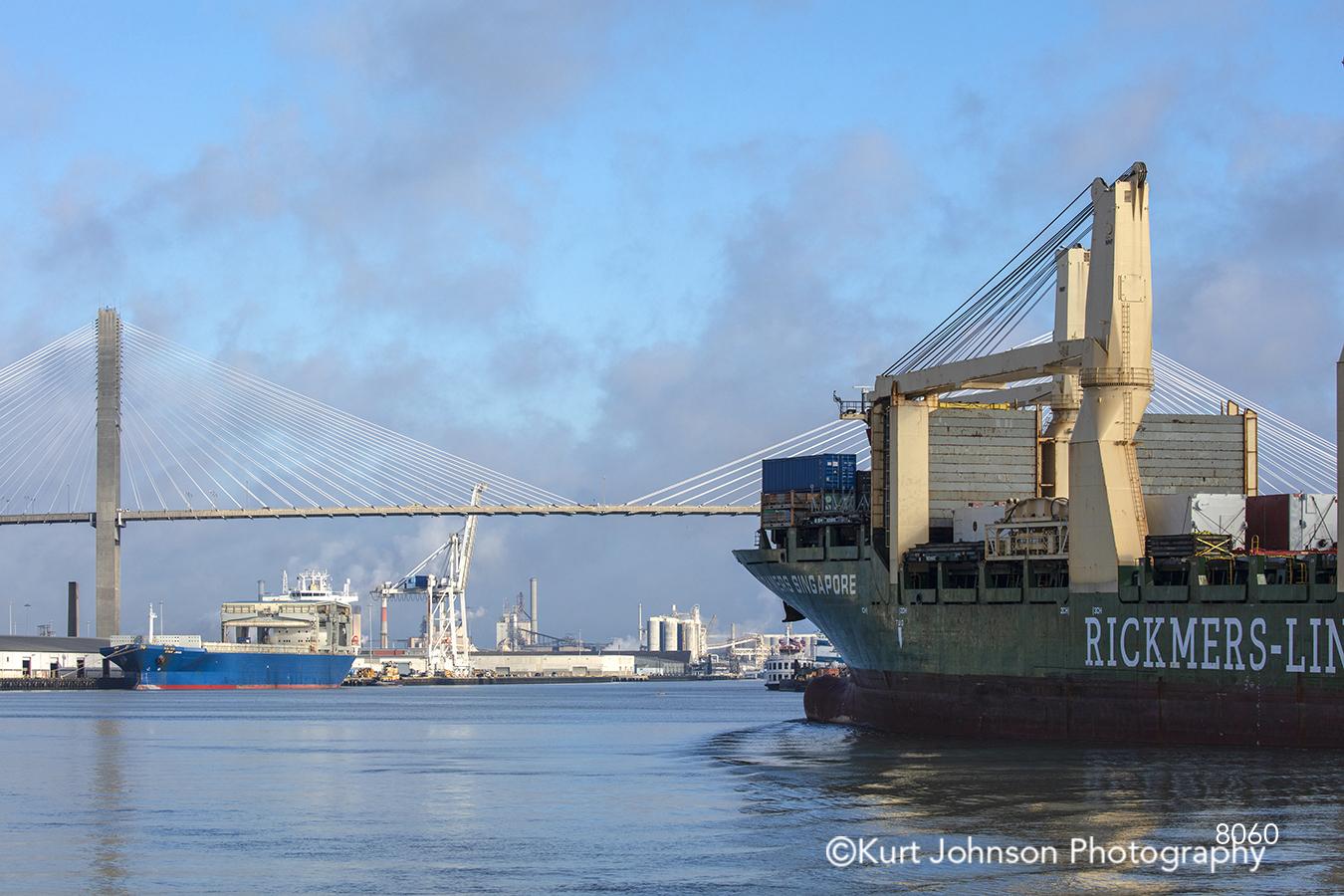 boat ship vessel ocean water waterscape blue sky clouds reflection south southeast