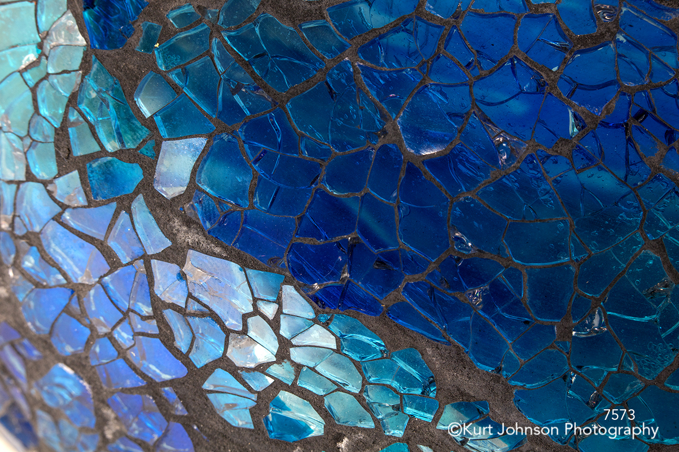 blue pattern texture lines mosaic close up detail crystal
