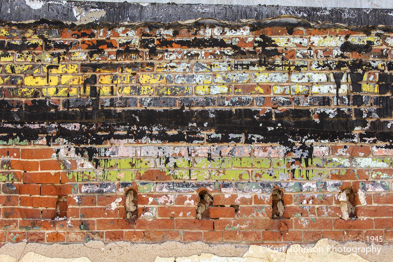 urban brick wall paint texture lines pattern detail rust