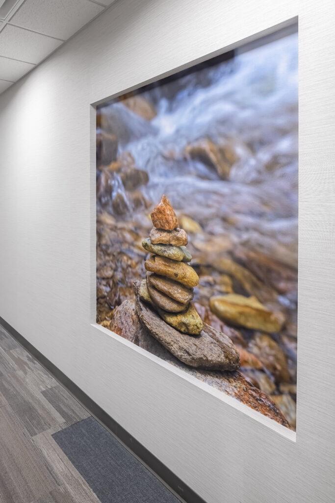 Fairview health services river falls WI Wisconsin BDH Kurt Johnson Photography biophilic nature photograph healthcare